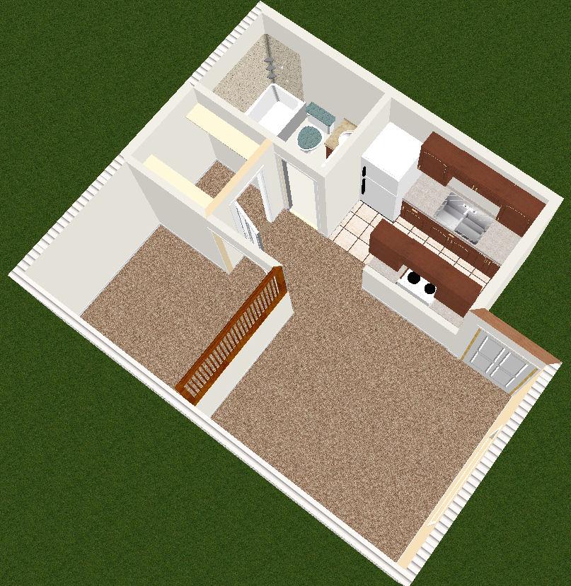 Sugar Creek One Bedroom Studio